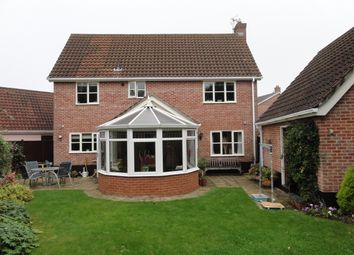 Thumbnail 4 bedroom detached house to rent in Coltsfoot Crescent, Bury St. Edmunds