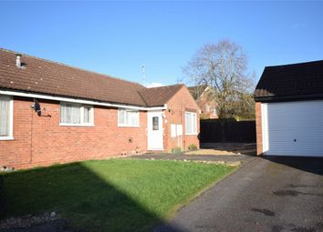 Thumbnail 2 bed semi-detached bungalow for sale in Otter Drive, Mulbarton, Norwich, Norfolk