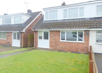 Thumbnail 3 bed semi-detached house to rent in Meden Glen, Old Church Warsop, Mansfield