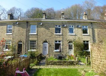 Thumbnail 2 bed terraced house to rent in Crescent Row, High Peak, Derbyshire