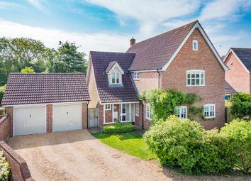 Thumbnail 4 bed detached house for sale in Chevington, Bury St Edmunds, Suffolk