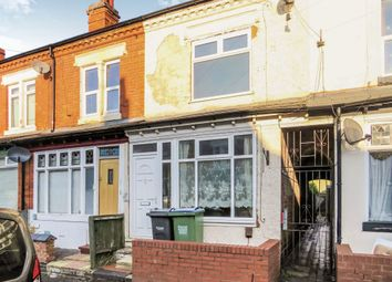 Thumbnail 3 bed terraced house for sale in Reginald Road, Bearwood, Smethwick