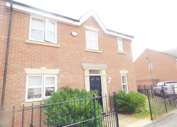 Thumbnail 3 bedroom semi-detached house for sale in Hornbeam Road, Hampton Hargate, Peterborough