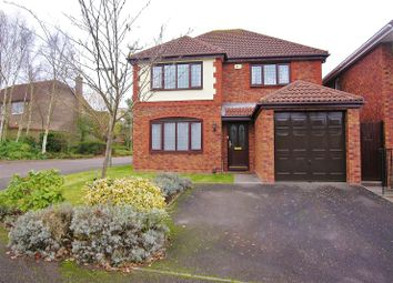 Thumbnail 4 bed detached house for sale in Percheron Drive, Knaphill, Woking
