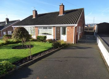 Thumbnail 2 bed semi-detached bungalow for sale in Wallis Way, Baddeley Green, Stoke-On-Trent