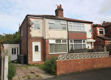 Thumbnail 3 bedroom semi-detached house for sale in Russell Street, Prestwich, Manchester