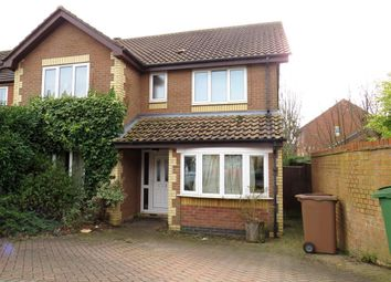 Thumbnail 4 bed detached house to rent in Sackville Close, Beverley