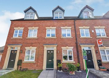 Thumbnail 3 bed terraced house for sale in Blakeholme Court, Burton-On-Trent, Staffordshire