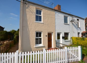 Thumbnail 2 bed end terrace house to rent in Marsh Road, Oulton Broad South, Suffolk