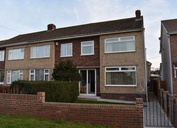 Thumbnail 3 bed semi-detached house for sale in Badminton Road, Coalpit Heath, Bristol