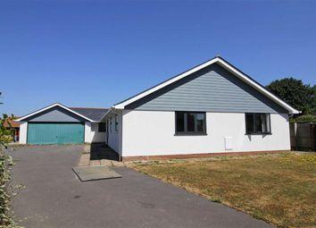 Thumbnail 4 bed bungalow for sale in Ashley Lane, Hordle, Lymington
