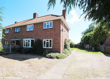 Thumbnail 3 bedroom semi-detached house to rent in School Road, Drayton, Norwich