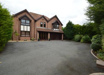 Thumbnail 4 bedroom detached house for sale in St Marys Close, Prestwich, Manchester