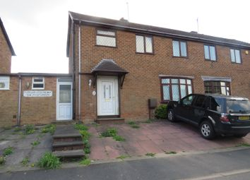 Thumbnail 3 bedroom semi-detached house for sale in Poplar Green, Dudley