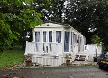 Thumbnail 2 bed mobile/park home for sale in Castle Park, St Columb