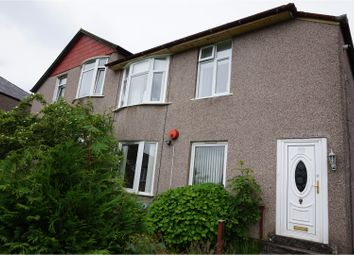 Thumbnail 3 bed flat for sale in Fintry Drive, Glasgow