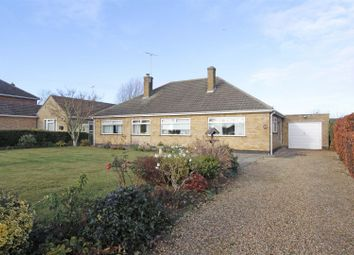 Thumbnail 3 bedroom detached bungalow for sale in Northorpe, Thurlby, Bourne