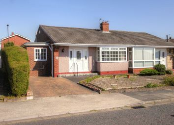 Thumbnail 2 bed semi-detached bungalow for sale in Chudleigh Gardens, Chapel House, Newcastle Upon Tyne