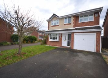 Thumbnail 4 bed detached house for sale in Wensleydale Close, Whittle Hall, Warrington