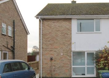 Thumbnail 1 bedroom flat to rent in New Road, Whittlesey, Peterborough