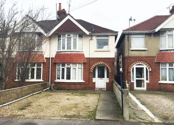 Thumbnail 3 bed semi-detached house for sale in Surrey Road, Swindon