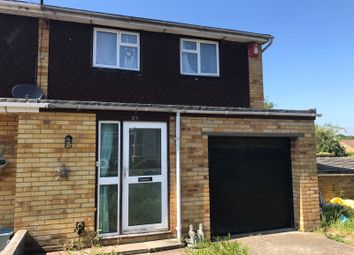 Thumbnail 3 bed end terrace house for sale in Epping Close, Southampton
