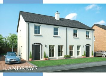 Thumbnail 3 bed semi-detached house for sale in Moorfield Avenue, Comber, Newtownards