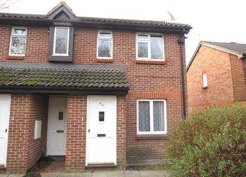 Thumbnail 1 bed flat to rent in Lowdell Close, West Drayton