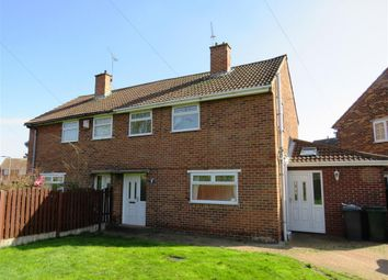 Thumbnail 3 bed semi-detached house to rent in Riverdale Road, Scawthorpe, Doncaster