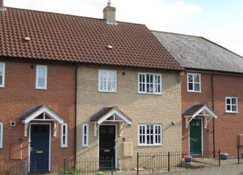 Thumbnail 3 bedroom terraced house to rent in Old Convent Orchard, Bury St. Edmunds