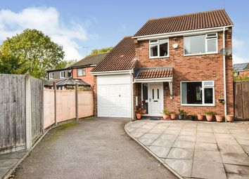 Thumbnail 4 bed detached house for sale in Warren Drive, Leicester