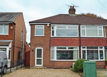 Thumbnail 3 bed semi-detached house for sale in Shuckburgh Crescent, Hillmorton, Rugby