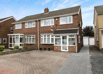 Thumbnail 3 bed semi-detached house for sale in Hundred Acre Road, Sutton Coldfield, West Midlands, .