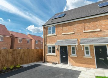 Thumbnail 2 bed semi-detached house for sale in Marriott Close, Narborough, King's Lynn