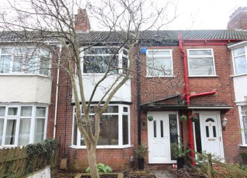 Thumbnail 3 bed terraced house for sale in Victoria Avenue, Princes Avenue, Hull