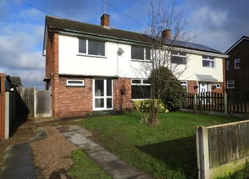 Thumbnail 4 bed semi-detached house to rent in Whitewater Road, New Ollerton, Newark
