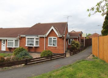 Thumbnail 2 bed bungalow for sale in Swithland Close, Markfield