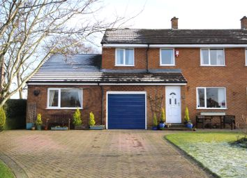 Thumbnail 4 bed semi-detached house for sale in 25 Cairn Wood, Heads Nook, Brampton, Cumbria
