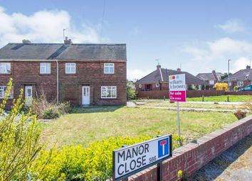Thumbnail 3 bed semi-detached house for sale in Manor Close, Maltby, Rotherham