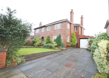 Thumbnail 3 bed semi-detached house to rent in Ellenbrook Road, Worsley, Manchester