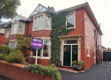Thumbnail 4 bed semi-detached house for sale in Chatsworth Road, Lytham St. Annes