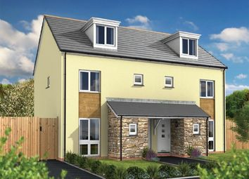 Thumbnail 4 bed semi-detached house for sale in Aglets Way, Porthpean, St Austell