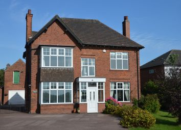 Thumbnail 4 bed detached house for sale in Leicester Road, Ashby-De-La-Zouch