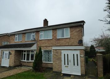 Thumbnail 3 bed semi-detached house for sale in Windrush Drive, Oadby, Leicester, Leicestershire