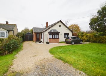 Thumbnail 4 bed detached bungalow for sale in Seven Star Green, Eight Ash Green, Colchester