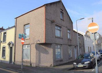 Thumbnail 4 bed end terrace house for sale in Western Street, Sandfields, Swansea