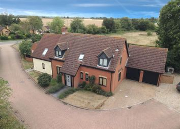 Thumbnail 5 bed detached house for sale in Cobbold Close, Combs, Stowmarket