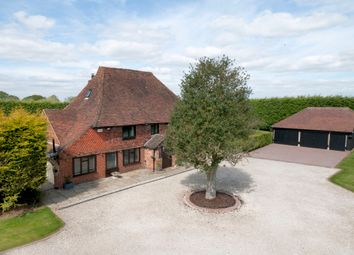 Thumbnail 6 bed farmhouse for sale in Holly Farm Road, Otham, Maidstone