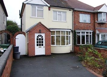 Thumbnail 3 bed semi-detached house to rent in Brook Lane, Solihull