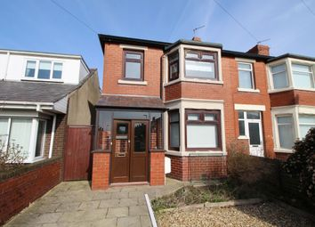 Thumbnail 3 bed semi-detached house to rent in Pedders Lane, Blackpool
